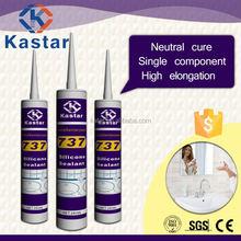 Neutral curing bathroom silicone sealant