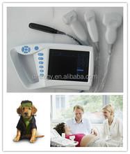 XF-US-Palm HOT selling Full digital veterinary palm ultrasound scanner, dog, cattle