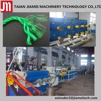 Raffia Rope Extrusion PP Flat Yarn Extruder Machine with PLC