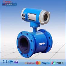 Intelligent Pure water inline electromagnetic flow meters