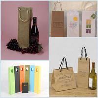 China manufacture wholesale wine glass carrier bag