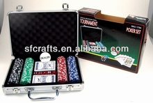 2013 new poker tournament game set toys for party