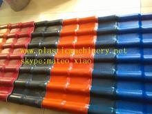 plastic pvc ridge roof tile