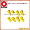 precise casting wearing parts for excavator and bulldozer