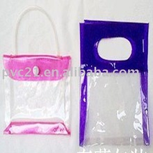 2012 0.35MM Thickness Colorized PVC Cosmetic Packing Bag