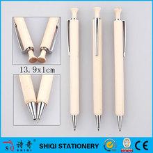 Laser OEM name printed wood ball pen supplier
