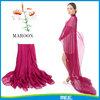 maroon silk scarf,chiffon plain maroon scarf