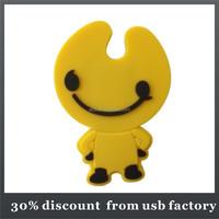 hot selling 8GB shape pvc usb 2.0 flash disk