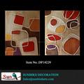 Pintura al óleo poppies100% abstracta hecha a mano de pintura al óleo de estilo abstracto pintado a mano y el tipo de aceite de reproducción de la pintura