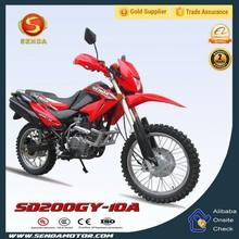 200cc Dirt Bike/200cc Off Road Bike/200cc Motocross Motorcycle in China HyperbizSD200GY-10A