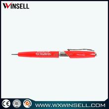 Chrome Trim metal ball point pen, roller ball pen