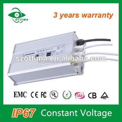 led waterproof power supply 250w high power 24v 48v multi channel led driver