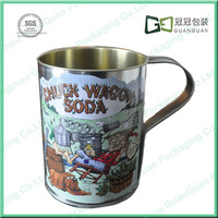 drink Printed tin can cup