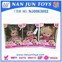 small baby doll best selling plastic toys for children