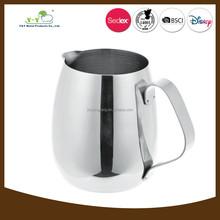 Succinct metal coffee mug coffee cup and saucer