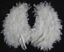 Hot Sale Handmade Angel Childrens White Feather Wings
