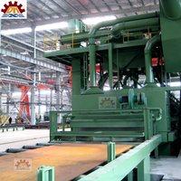abrasive anti-rust buffing dust collect H-beam Shotblasting And Painting Machine (shipyard Equipment)