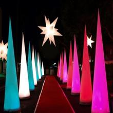 Wholesale inflatable led cone stage decoration With certificates