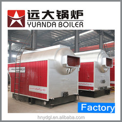 Made in China 4/ 6/ 10 Ton DZH Coal-fired Steam Boiler