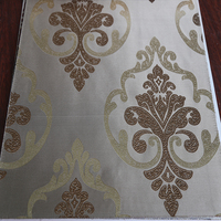 Fancy European curtain design woven jacquard curtain custom made