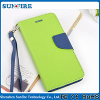 Korean Dual Color Wallet Case for iPhone5 / 5S, for iphone 5 case for various mobile phone
