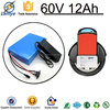 Rechargeable OEM lifepo4 battery pack with BMS Charger for Electric Vehicle