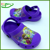 2015 Cheap eva holey kids crock clog shoes EGA0406-01 Purple