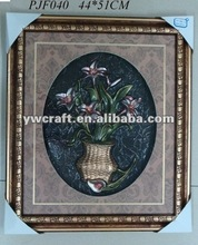 Flower Picture Wood Frame For Halloween(New Design)