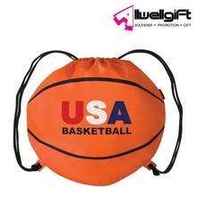 Basketball special design Custom Nylon Drawstring Bag