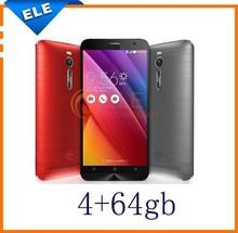 "Original Zenfone 2 ZE551ML for ASUS 4G FDD LTE Mobile Phones 5.5"" IPS Intel Z3580 Quad Core 2.3GHz 4GB RAM 64GB ROM Android 5.0"
