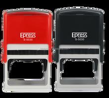 Estampilla de destello oficina entintado con diseño personalizado epress : S5030