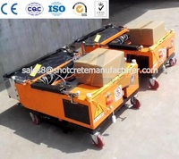 High Quality Automatic Wall Plastering Machine External Thermal Rendering Machine