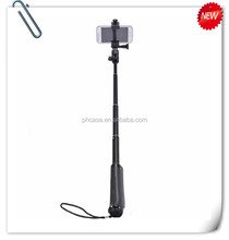 New Product 2015 Hot Selling Amazon selfie stick with cable zoom in selfie stick