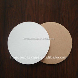White Top Circle Cake Board/Cake Circle