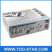 61 Keys roll up Electronic Keyboard Piano/Electric Piano Keyboard/Electric Keyboard Instrument
