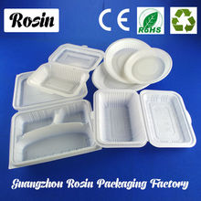 Disposable foam food containers packing