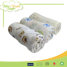 MS120 plain woven chinese blanket baby, new born baby blanket