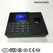 Good Market Color Display web based digital fingerprint scanner price with External Time Bell