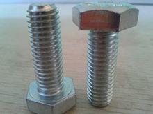 America Grade8 zinc plated full thread hex bolts