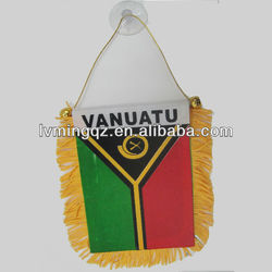 decoration flag banner,super hanging pennant soccer flag,8*12cm banner