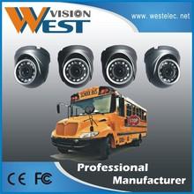 School Bus CCTV Camera 1/3 SONY CCD 700TVL Mini Metal Dome