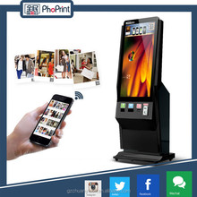 Phoprint Factory sales 42 inch full hd 1080p floor standing lcd ad player/led ad player /lcd advertising player with photo print