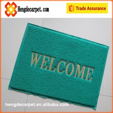 Fashion designed indoor outdoor logo mat,customized logo mat from china supplier