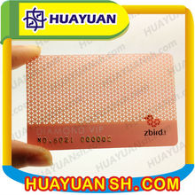 high quality Matt Or Clear Transparent Business Card, Membership Card With Both Sides Print