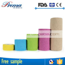 Own Factory Direct Supply Non-woven Elastic Cohesive Bandage car first aid devices