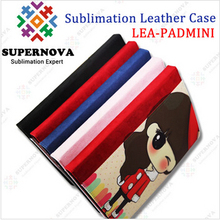 Printing your Own Design, Sublimation Leather Case for iPad mini