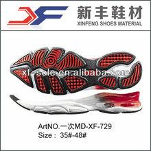 soft correndo sapatilha sola de sapato fabrica em quanzhou