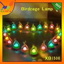 Lovely Birdcage Lamp Touchable LED Soft light Sleep assistant Light Portable energy saving Light