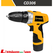 CD306 12V Keyless Li-ion Cordless Drill With LED Light GS UL Made In China