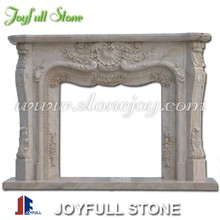 Fireplace, Marble Fireplace, Fireplace Mantel